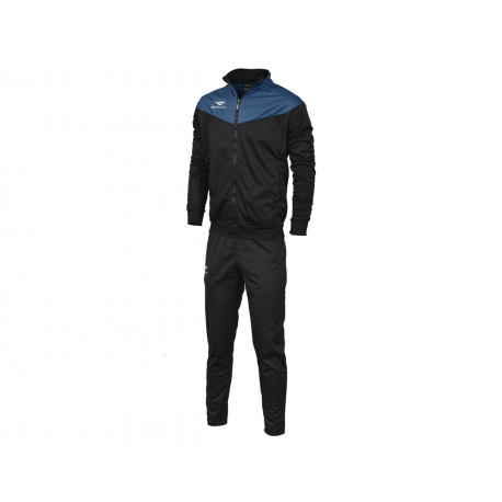 TRACKSUIT MATIS WO black - royal  XS