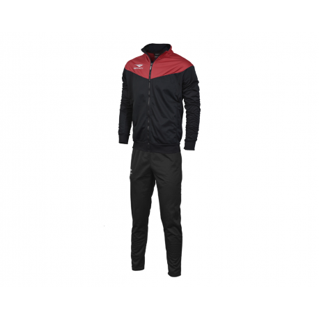 TRACKSUIT MATIS WO black - red  L