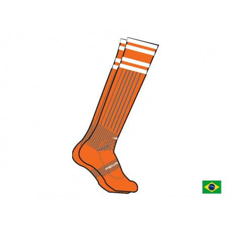 SOCCER SOCKS BR 70 fluo orange  L