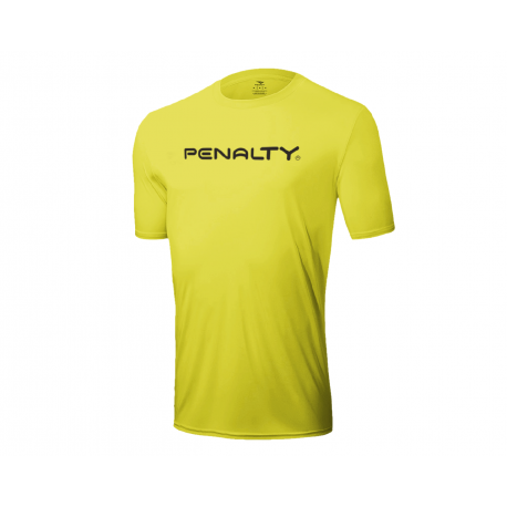 T- SHIRT MATIS PROMO fluo yellow  XL