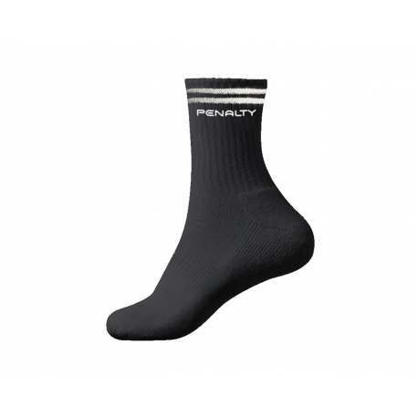 TENNIS SOCKS LONG STRIPE 3 PAIRS 3 black  L
