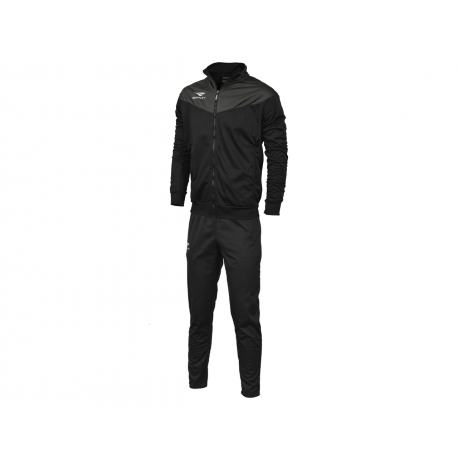 TRACKSUIT MATIS WO black - dark grey  XL