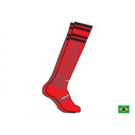 SOCCER SOCKS BR 70 red  S