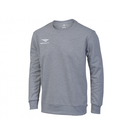 SWEATSHIRT ERA ROUNDNECK grey melange  XL