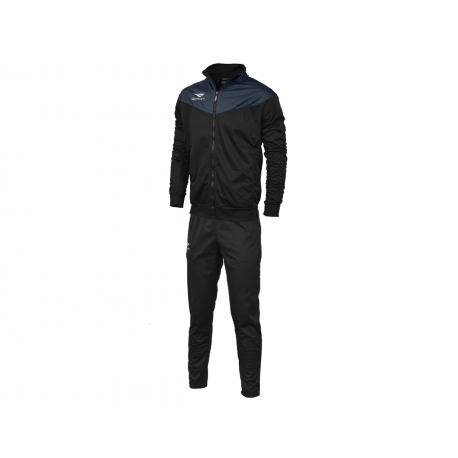 TRACKSUIT MATIS WO black - navy blue  XL