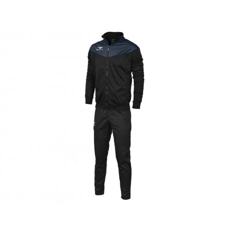 TRACKSUIT MATIS WO black - navy blue  XS