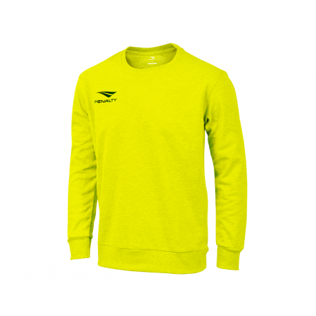 SWEATSHIRT ERA ROUNDNECK fluo yellow  XL